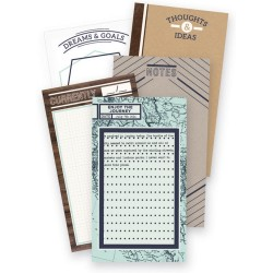 Typecast Notepad Adventure Mint WE R Memory Keepers