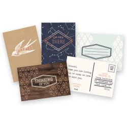 Typecast Cards & Envelopes Mint WE R Memory Keepers