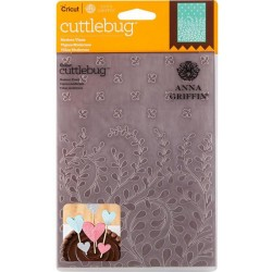"Modern Vines Embossing Folder 5""x7"" Cricut Cuttlebug"