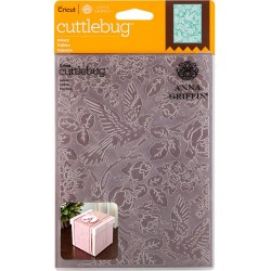 "Aviary Embossing Folder 5""x7"" Cricut Cuttlebug"