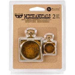 Pocket Watches Mechanicals Metal Embellishments by Finnabair Prima Marketing