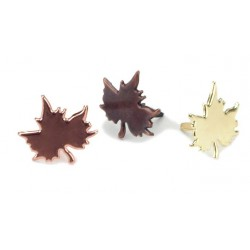 Metallic Leaves Brads 1,4 cm 50 Pkg Creative Impressions