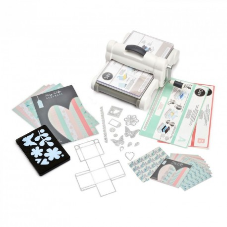 Sizzix Big Shot Plus Starter Kit White& Gray