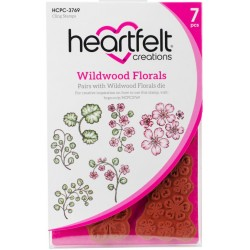 Wildwood Florals Cling Rubber Stamps Heartfelt Creations