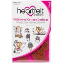 Wildwood Cottage Darlings Cling Rubber Stamps Heartfelt Creations