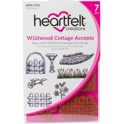 Wildwood Cottage Accents Cling Rubber Stamps Heartfelt Creations