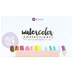 Pastel Dreams Watercolor Confections Pans 12 Pk Prima Marketing