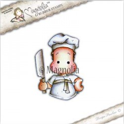 Timbro Chef Edwin Magnolia Rubber Stamp - RC17
