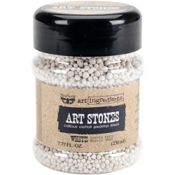White Art Stones Art Ingredients by Finnabair Prima Marketing