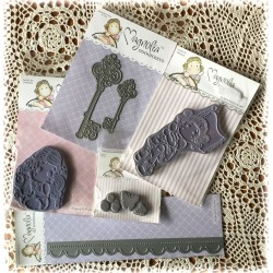 Kit Magnolia Stamps & Dies Present & Past 1