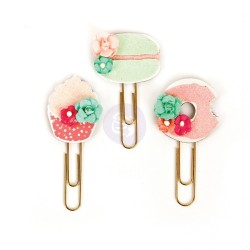 Sweet Tooth My Prima Planner Clips Embellishments Prima Marketing