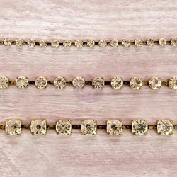"Diamond Rhinestone Chain 12"" Bohemian Jewels Prima Marketing"
