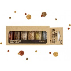 Luminous Art Extravagance Glitter Set 6 Pkg by Finnabair Prima Marketing