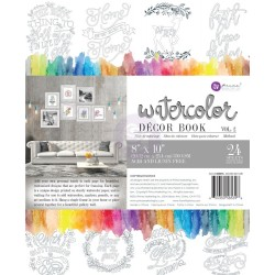 Decor Coloring Book Vol. 2 Water Coloring Book Prima Marketing