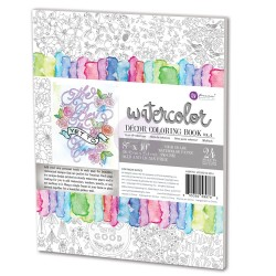 Decor Coloring Book Vol. 4 Water Coloring Book Prima Marketing