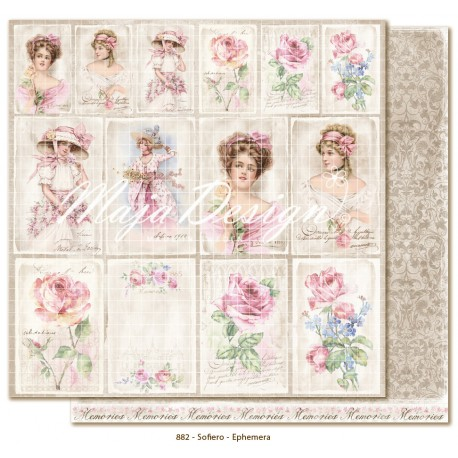 "Sofiero Ephemera 12""x12"" Sofiero Collection Maja Design"