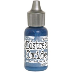 Faded Jeans Distress Oxide Reinker Tim Holtz