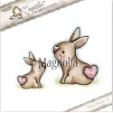 Timbro Sweet Rabbits Magnolia Rubber Stamp - ST17