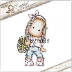 Timbro Tilda with Dotted Boots Magnolia Rubber Stamp - ST17
