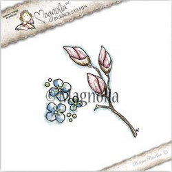 Timbro Magnolia Kit Magnolia Rubber Stamp - ST17