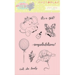 About A Little Girl Polymer Clear Stamps Photo Play by Julie Nutting