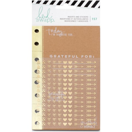 Inserts And Stickers Memory Planner Heidi Swapp