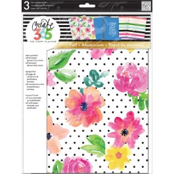 April Flowers Planner Cover Big Create 365 The Happy Planner Me&My Big Ideas