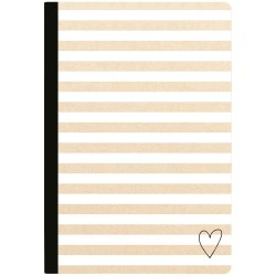 Kraft Stripe Lined Sheets Color Crush Composition Planner Notebook Webster's Pages