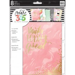Lovely Pastels Create 365 Planner Dividers Medium The Happy Planner Me&My Big Ideas