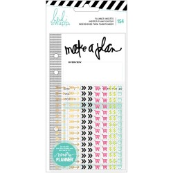 Events Inserts With Stickers Memory Planner Heidi Swapp