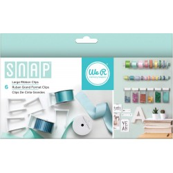 Snap Large Ribbon Clips We R Memory Keepers