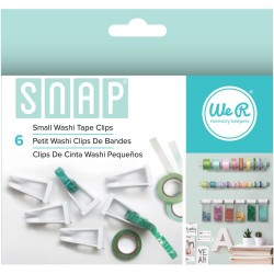 Snap Small Washi Tape Clips We R Memory Keepers