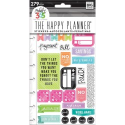 Get Paid Planner Stickers Classic Create 365 The Happy Planner Me & My Big Ideas