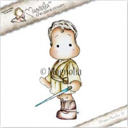 Timbro Edwin With Laser Sword Magnolia Rubber Stamp - GX17