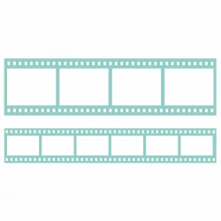 Film Strip Borders Decorative Dies DIY Cuts Kaisercraft