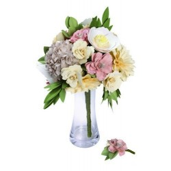 Bouquet & Boutonniere DIY Kit By David Tutera Sizzix