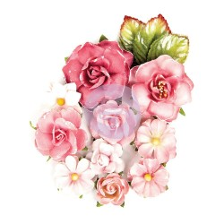 Endless Friendship Love Clippings Flowers Prima Marketing