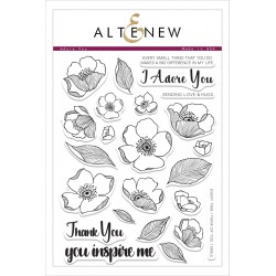 "Timbri Adore You Clear Stamps 8""x6"" Altenew"