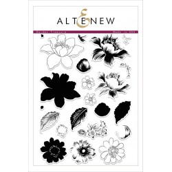 "Timbri Garden Treasure Clear Stamps 6""x8"" Altenew"