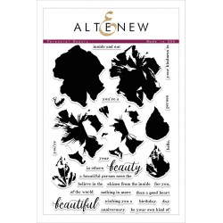 "Timbri Perennial Beauty Clear Stamps 6""x8"" Altenew"
