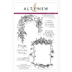 """Timbri Recollections Clear Stamps 6""""x8"""" Altenew"""