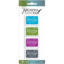 Kit 2 Archival Mini Ink Pad Kits by Wendy Vecchi Ranger