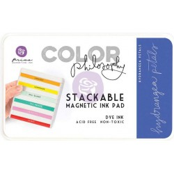 Hydrangea Petals Prima Color Philosophy Dye Ink Pad Prima Marketing