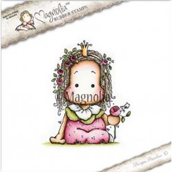 Timbro Rose Princess Tilda Magnolia Rubber Stamp - BU17