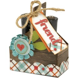 Double Tote Thinlits Dies Sizzix