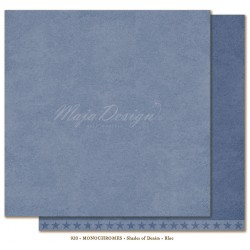 "Blue Monochromes - Shades of Denim 12""x12"" Maja Design"