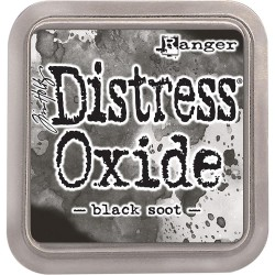 Black Soot Distress Oxide Ink Pad Tim Holtz