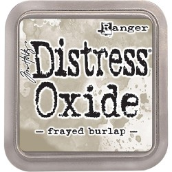 Frayed Burlap Distress Oxide Ink Pad Tim Holtz