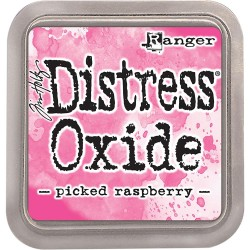 Picked Raspberry Distress Oxide Ink Pad Tim Holtz
