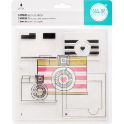 Camera Layered Stamp Kit We R Memory Keepers